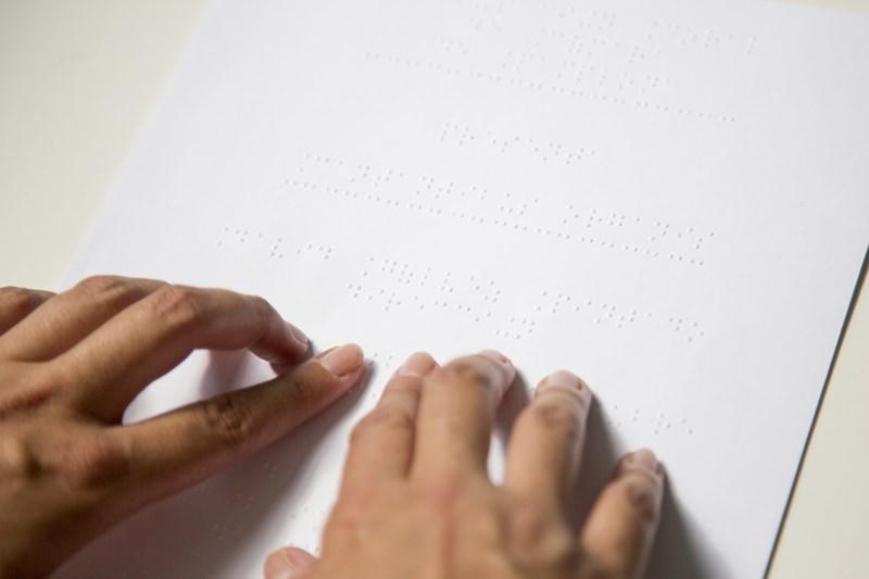 Texto en braille