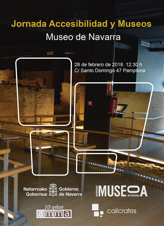 Cartel evento Jornada Accesibilidad y Museos