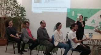 III Mini Accessibility Jam. Ejercicio de Calícrates con LSE de Asorna.