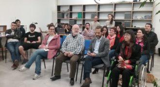 III Mini Accessibility Jam. Foto del jurado en primera fila.