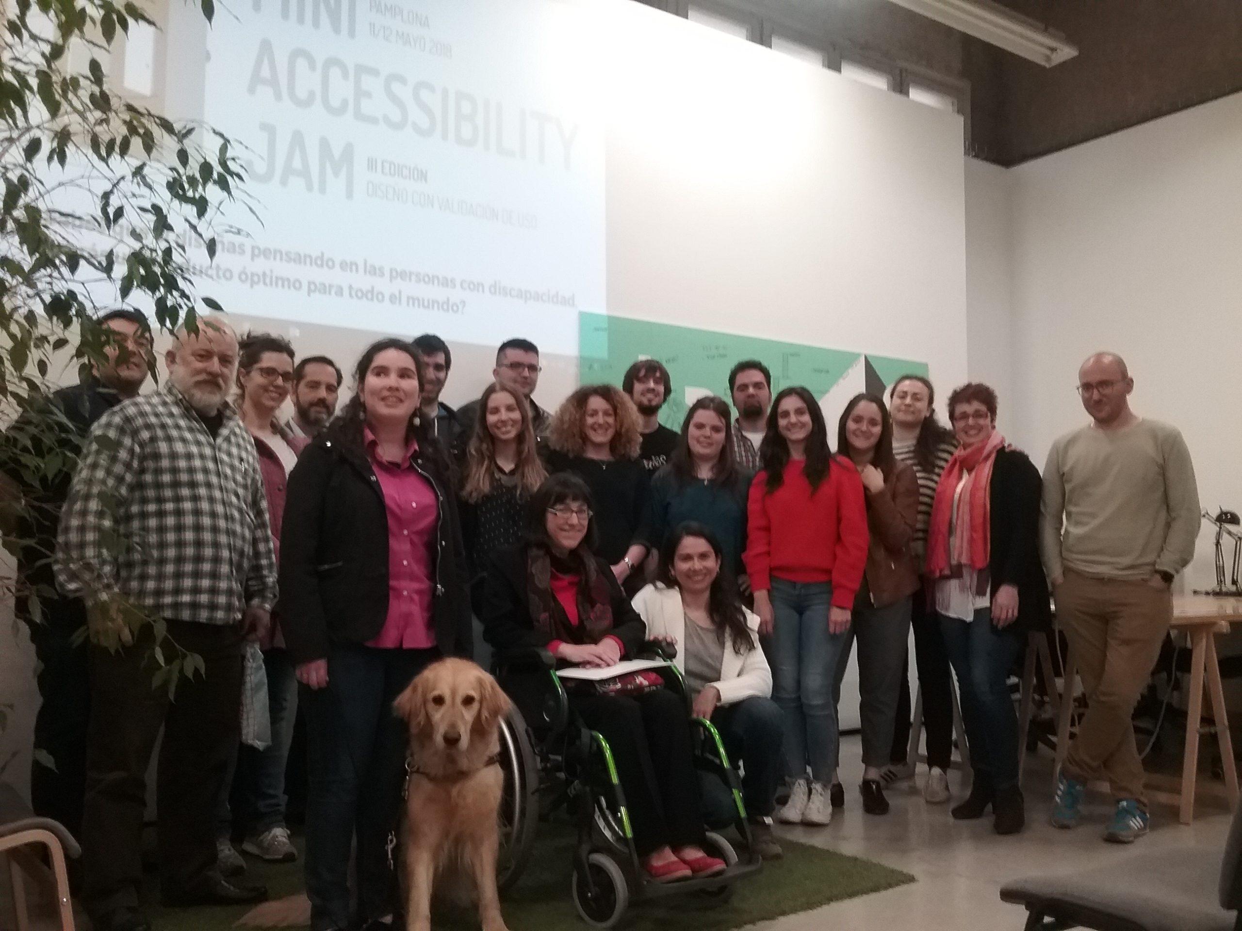 Esto va de perros…III Mini Accessibility Jam