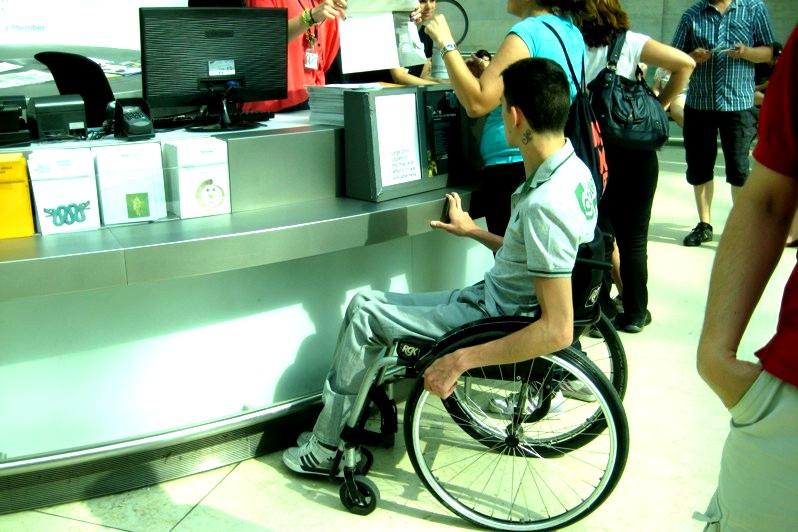 El temor a la silla de ruedas